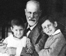 Freud and his grandchildren